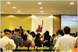 Culto da Família 23/fev/2014