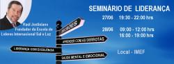 Seminário de liderança em Junho