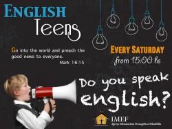 ENGLISH TEENS - Início dia 07/06