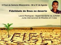 IMEF Curitiba realiza 2º Final de Semana Missionário