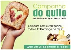 """""""Campanha do Quilo"""" - Outubro"""