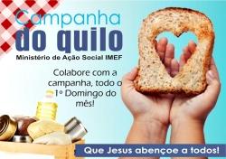 """Campanha do Quilo"" - Novembro"