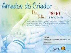 "Convite ""Dia Feliz"" - 2014"