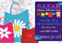"""Bazar """"Dorcas"""" (Convite)"""