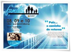 """""""Retiro da Família"""" IMEF começa nesta sexta-feira (08)"""