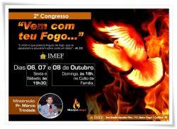 """IMEF realiza """"2º Congresso Vem Com Teu Fogo"""""""