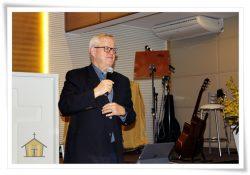 PR. JIMMY STIER MINISTRA PALESTRAS PARA LIDERANÇAS DA IMEF