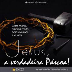 A Páscoa de Jesus