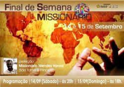 IMEF realiza Final de Semana Missionário com Mendes Varela
